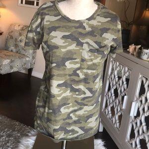 """Arizona Jean co"" camouflage t-shirt"